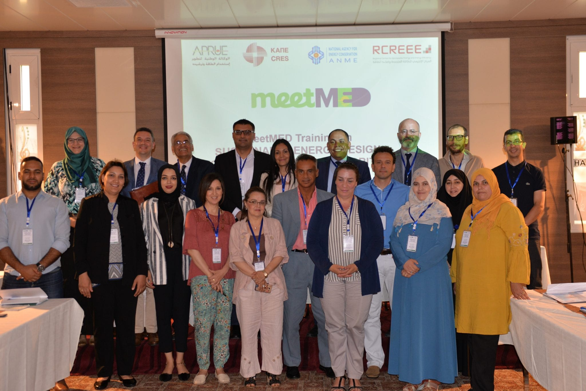 meetMED Training on the use of a Sustainable Energy Design Toolkit for Public Authorities