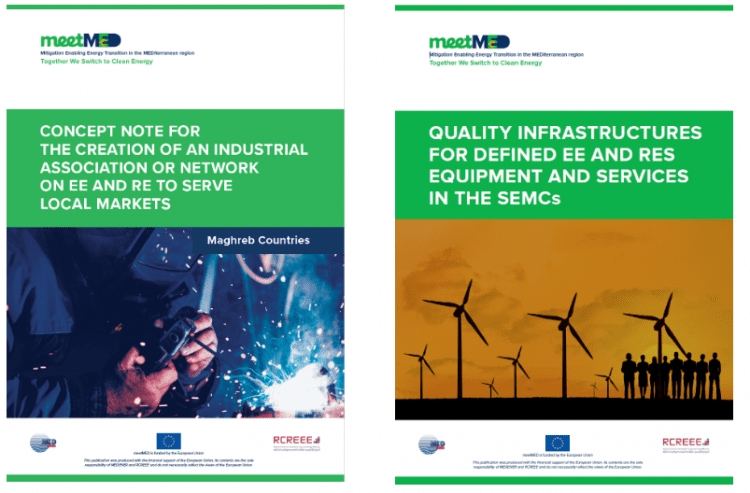 How can industrial associations and quality infrastructures for EE and RES support the energy transition? Two new meetMED reports are out!
