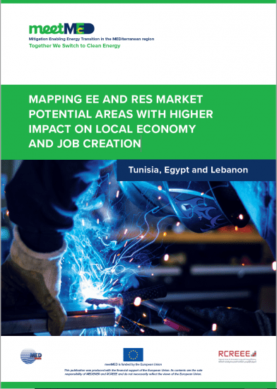 Mapping EE and RES Market Potential Areas with Higher Impact on Local Economy and Job Creation – Tunisia, Egypt, and Lebanon